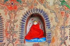 Shwe Yan Pyay Monastery Buddha Image, Nyaungshwe, Myanmar foto de stock royalty free