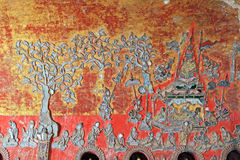Shwe Yan Pyay Monastery Buddha Image, Nyaungshwe, Myanmar Royalty Free Stock Images