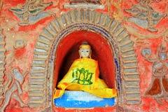 Shwe Yan Pyay Monastery Buddha Image, Nyaungshwe, Myanmar Stock Photography