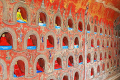 Shwe Yan Pyay Monastery, Nyaungshwe, Myanmar foto de stock royalty free