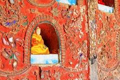 Shwe Yan Pyay Monastery, Nyaungshwe, Myanmar fotografia de stock royalty free