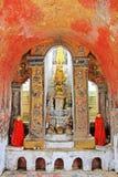 Shwe Yan Pyay Monastery, Nyaungshwe, Myanmar fotos de stock