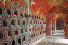 Shwe Yan Pyay Monastery, Nyaungshwe, Myanmar fotografia stock libera da diritti