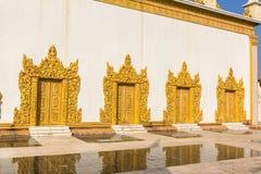 Shwe Yan Pyay Temple , Inle lake , Shan State , Myanmar Royalty Free Stock Photography