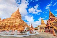 Shwe Zi Gon Paya in Myanmar Royalty Free Stock Images