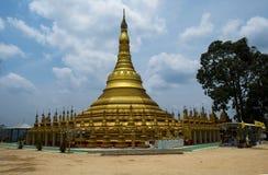 Shwedagon塔模型 免版税库存照片