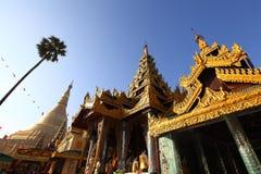 Shwedagon塔视图 库存图片