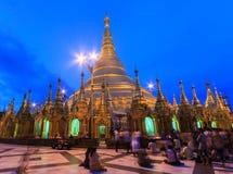 Shwedagon塔,缅甸 库存照片