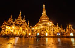 Shwedagon塔,缅甸 免版税库存图片