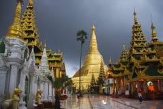Shwedagon塔,仰光 库存照片