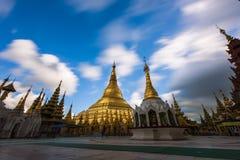 Shwedagon Пагод-Янгон-Мьянма Стоковые Фото