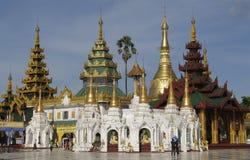 shwedagon 3 pagoda Стоковая Фотография RF