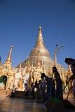 Shwedagon塔 库存图片
