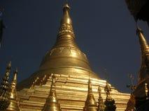 塔shwedagon 库存照片