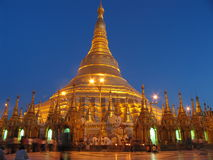 shwedagon de pagoda Photographie stock