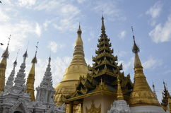 Shwedagon, a forest of pagodas Royalty Free Stock Photography