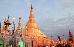 Shwedagon golden pagoda in Yangon, Myanmar (Burma) Royalty Free Stock Images