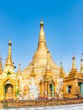 Shwedagon pagoda in Yangon. Myanmar. Royalty Free Stock Photography