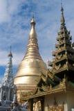 Shwedagon pagod Royaltyfri Bild