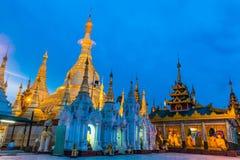 Shwedagon pagod i Myanmar Royaltyfri Bild