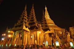 Shwedagon Pagoda,Yangon.Myanmar stock image