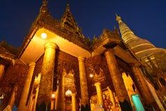 Shwedagon Pagoda,Yangon,Myanmar. stock photos