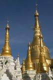 shwedagon pagoda детали Стоковая Фотография