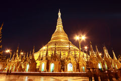 shwedagon pagoda Стоковые Фото