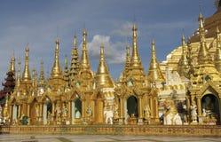 Shwedagon Pagoda 2. The buddhist Shwedagon Pagoda in Yangon, Myanmar Royalty Free Stock Photo