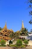 shwedagon pagoda Стоковое Изображение