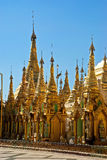 shwedagon pagoda Стоковые Изображения