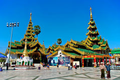 Shwedagon pagoda Stock Photography