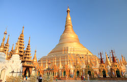 Shwedagon Pagoda Stock Photo