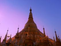 Shwedagon pagoda Obrazy Royalty Free