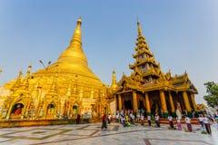 Shwedagon pagoda Obraz Royalty Free