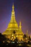 Shwedagon pagoda Arkivbild