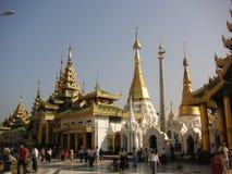 shwedagon pagoda Стоковое Изображение RF