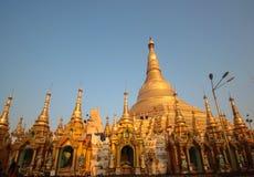 Shwedagon pagoda Royaltyfri Bild