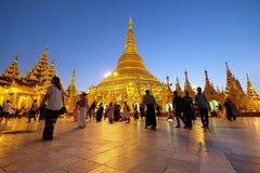 Shwedagon pagoda Obraz Stock