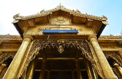 Shwedagon pagoda Arkivfoton