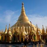 Shwedagon Pagoda, Birma Obrazy Royalty Free
