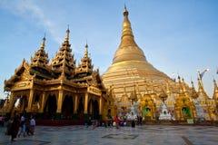 Shwedagon pagoda, Birma Fotografia Royalty Free