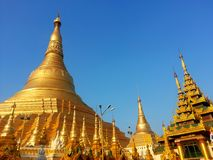 Shwedagon Pagoda Royalty Free Stock Image