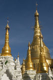 Shwedagon Pagoda Detail Stock Photography