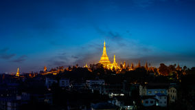 Shwedagon pagoda Royalty Free Stock Image