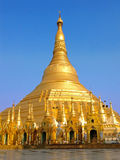 Shwedagon pagoda ,the famous sacred place and tourist attraction Stock Image