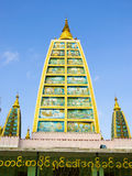 Shwedagon Pagoda Interior Structure in Rangoon, My Stock Photo