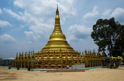 Shwedagon Pagoda model Royalty Free Stock Photos