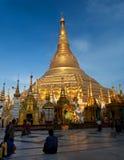 Shwedagon Pagoda, Myanmar Zdjęcie Stock
