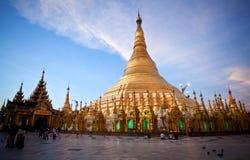 Shwedagon pagoda, Myanmar Obraz Stock